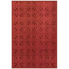 Napa Collection Red Area Rug