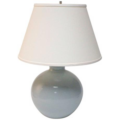 Haeger Potteries Mist Large Bristol Ceramic Table Lamp
