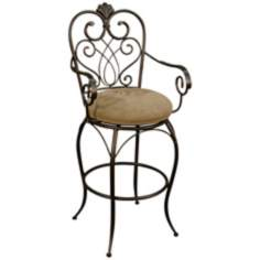 "American Heritage Concerto 30"" High Bar Stool"