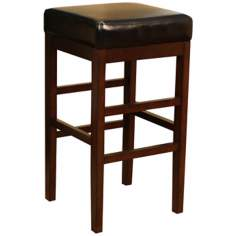 "American Heritage Empire Sierra Wood 30"" High Bar Stool"