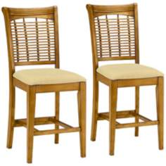 Set of 2 Bayberry Counter Stools