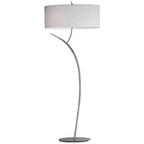 Artcraft Sloan Chrome Floor Lamp