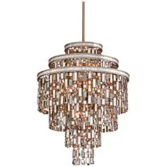 "Dolcetti Silver 24"" Wide Corbett Pendant Light"