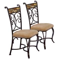 Set of 2 Pompeii Dining Chairs
