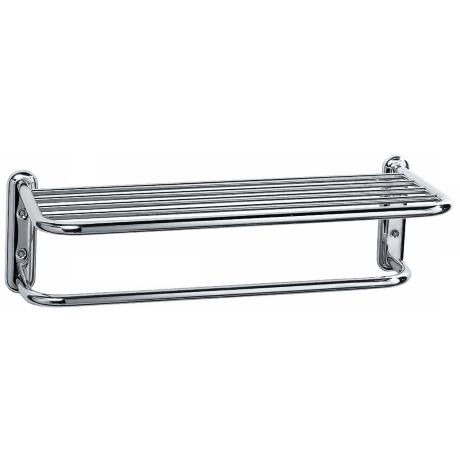 "Gatco Chrome Finish 20"" Wide Spa Towel Bar Rack"