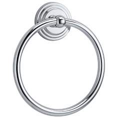 "Gatco Marina 7 3/4"" High Chrome Towel Ring"