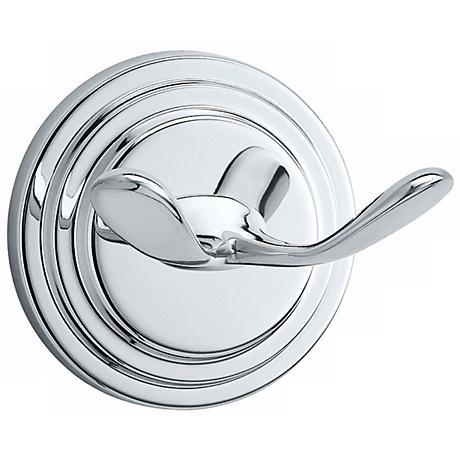 Gatco Marina Twin Prong Chrome Wall Hook