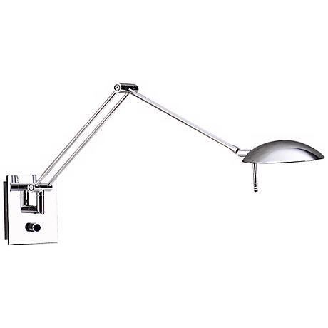 Holtkoetter Bernie Turbo Series Chrome Swing Arm Wall Lamp