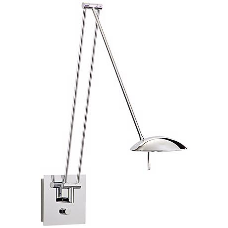 Holtkoetter Bernie Turbo Series Chrome Halogen Wall Lamp