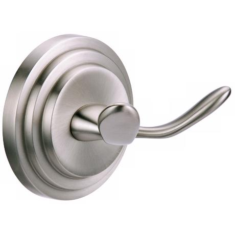 Gatco Marina Twin Prong Satin Nickel Wall Hook