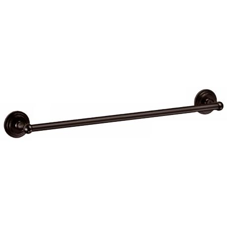 "Gatco Marina 24"" Wide Bronze Towel Bar"