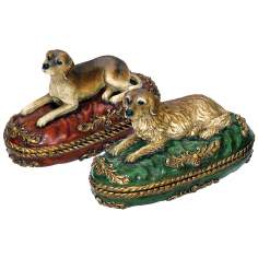 Set of 2 Prized Pet Decorative Boxes