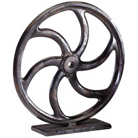 Bronze Gear Sculpture #2