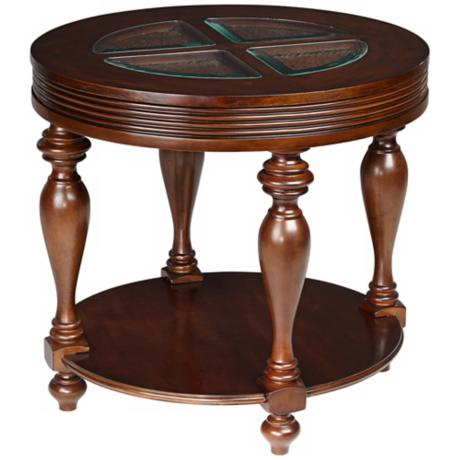 Tailored Expressions Aubrey Oval End Table