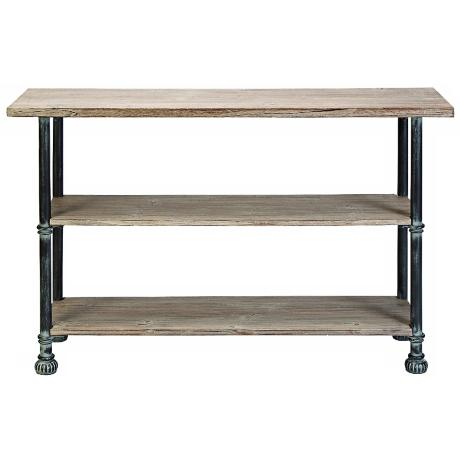 Wood console table for Metal and wood console tables