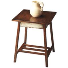Artist's Original Appaloosa Accent Table