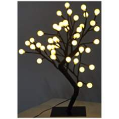 Decorative White Round LED Tree Accent Light