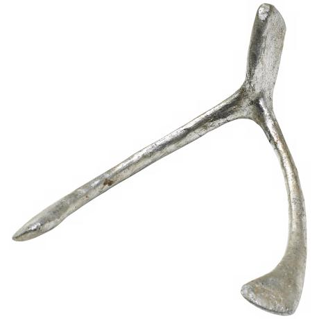 Pewter Iron Wishbone