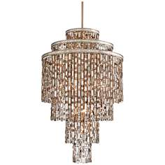 "Dolcetti Silver 32"" Wide Corbett Pendant Light"