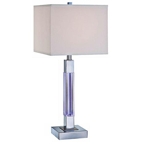 Fidelio Crystal LED Color-Changing Column Lamp