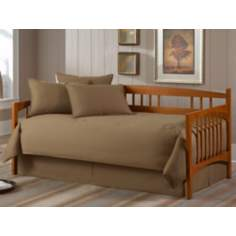 Solid Khaki Paramount 5-Piece Daybed Bedding Set