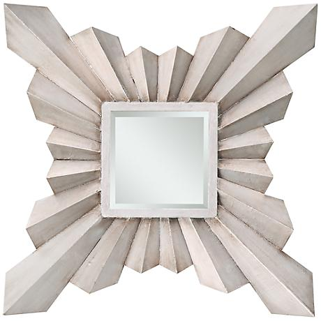 "Cooper Classics Anna 29 1/2"" High Wall Mirror"