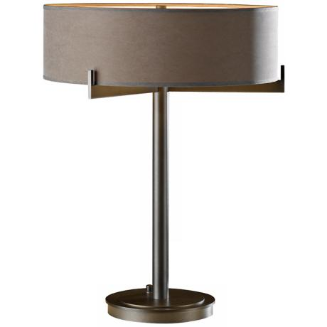 Axis with Eclipse Shade Hubbardton Forge Table Lamp