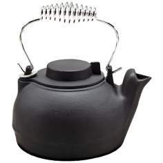 2 1/2 Quart Painted Black Cast Iron Kettle