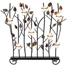 "Votive Summer 26"" High Fireplace Screen"