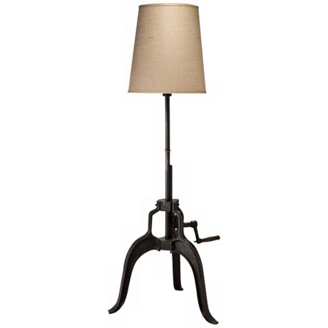 Adjustable Height Wall Lamps : Jamie Young Americana Crank Adjustable Height Floor Lamp - #U9549 www.lampsplus.com