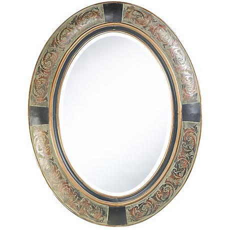 "Cooper Classics Sawyer 35"" High Wall Mirror"