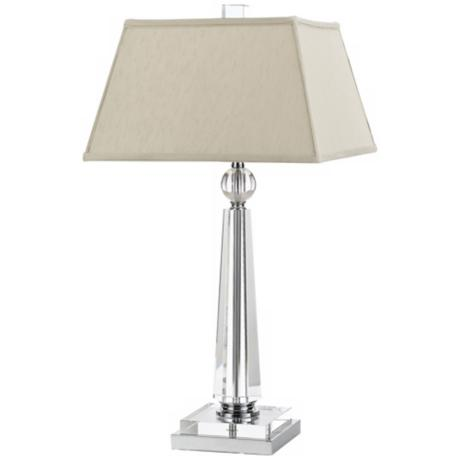 Candice Olson Cluny with Cream Shade Table Lamp