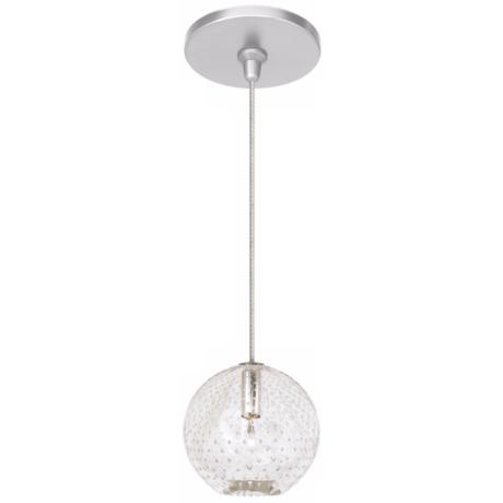 LBL Bullé Clear Nickel Pendant Light