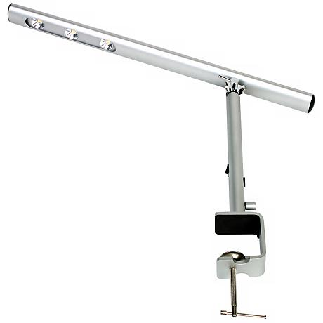 Mighty Bright Lux Bar Clamp-Base Aluminum LED Desk Lamp