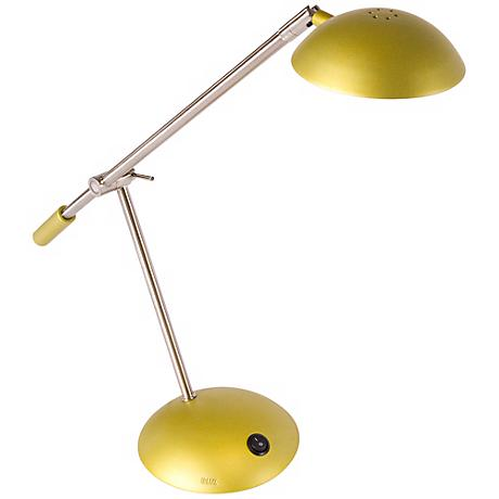 Mighty Bright LUX Dome Chartreuse LED Desk Lamp