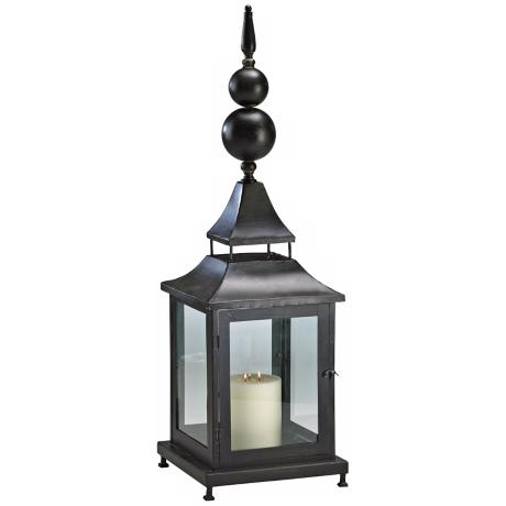 "Scottish 38"" High Decorative Candle Lantern"
