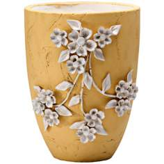 "Lucy 12 1/4"" High Terra Cotta Decorative Planter"