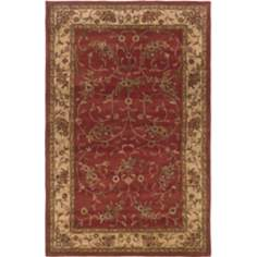 Craft Collection Kent Rust Beige Area Rug