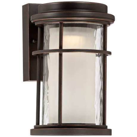 "Park View Bronze 13 1/2"" High LED Outdoor Light"
