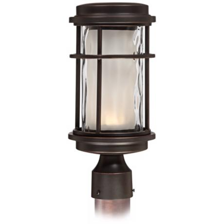 "Park View Bronze 13"" High LED Outdoor Post Light"
