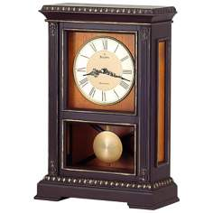 "Whitmore 18"" High Westminster Melody Bulova Mantel Clock"