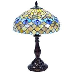 Sofia Tiffany Style Accent Table Lamp