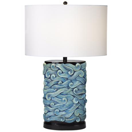 Prince of Tides Turquoise Table Lamp