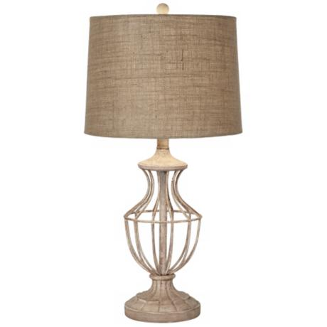 Kathy Ireland Home Hampton Metal Table Lamp