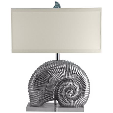 Lamp Works Nautilus Cast Aluminum Table Lamp