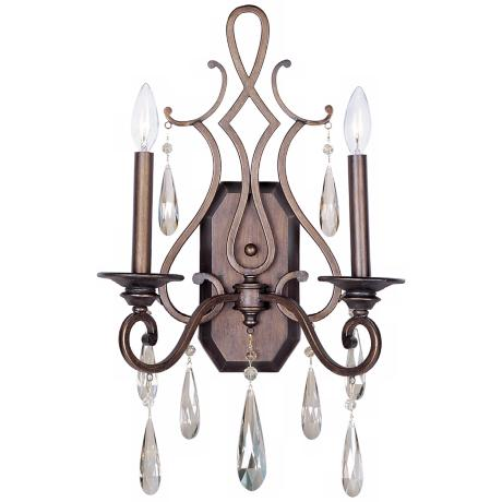 "Maxim Chic Collection Heritage 22 1/2"" High Wall Sconce"