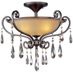"Maxim Chic Collection Heritage 25"" Wide Ceiling Light"