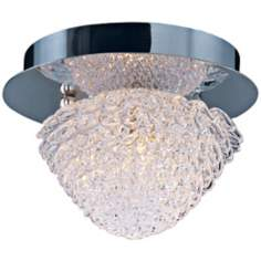 "ET2 Blossom 5 1/2"" Wide Crystal Flushmount Ceiling Light"