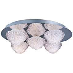 "ET2 Blossom 15 3/4"" Wide Crystal Flushmount Ceiling Light"