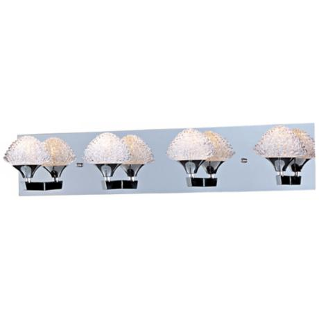 "ET2 Blossom 27 3/4"" Wide Crystal Bathroom Light Fixture"
